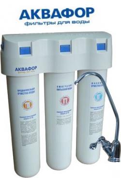Аквафор - фильтры проточные с отдельным краном.